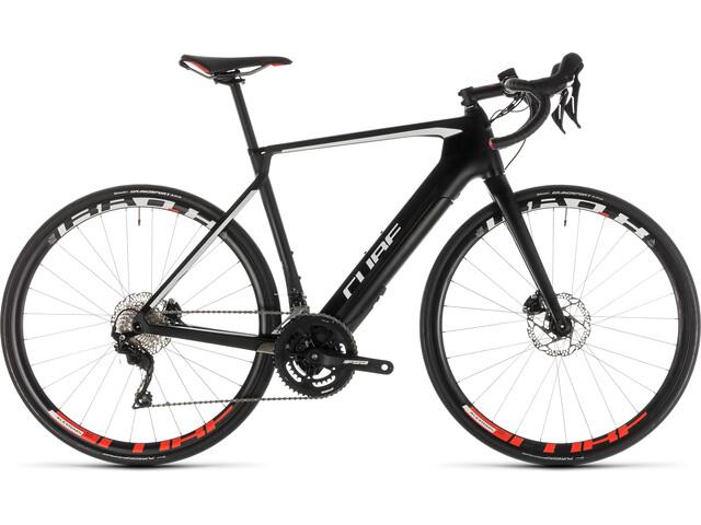 Cube Agree Hybrid C:62 Race Disc - Vélo de route électrique - noir